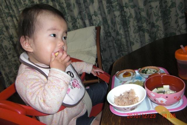 1歳児Eちゃん